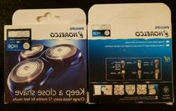 2 Pack of Philips Norelco HQ8 Dual Precision Replacement Hea